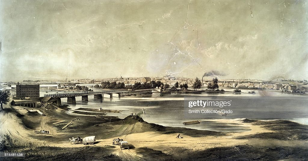 A landscape painting of Richmond the painting depicts a preCivil War city after the American Revolutionary War the city had established itself as an...