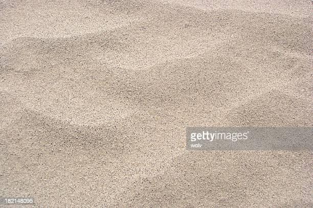 Landscape photograph of hot sand dunes
