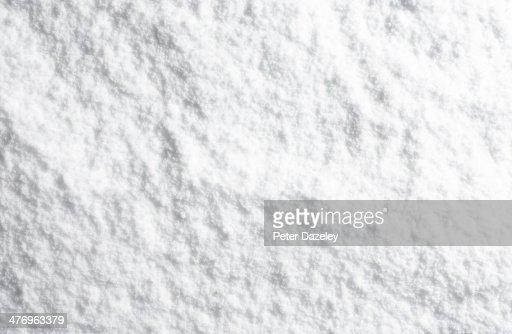 landscape powder snow