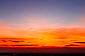 Landscape sunset, Tokyo City View