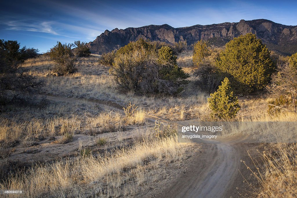 landscape sunset trail : Stock Photo