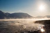 Landscape, Svalbard, Arctic circle, Norway