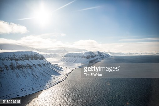 Landscape Svalbard, Norway