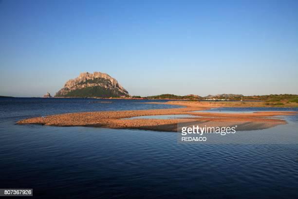 Landscape Tavolara island Loiri Porto San Paolo Sardinia Italy