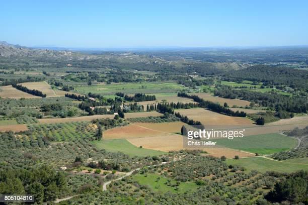 Landscape View Les Alpilles Provence