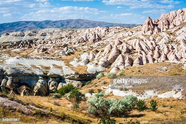 Landscape view of the Turkish Cappadocia.