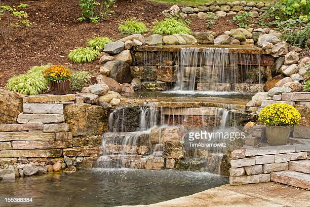 Landscaping Waterfall