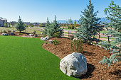 Beautiful backyard with the use of artificial turf
