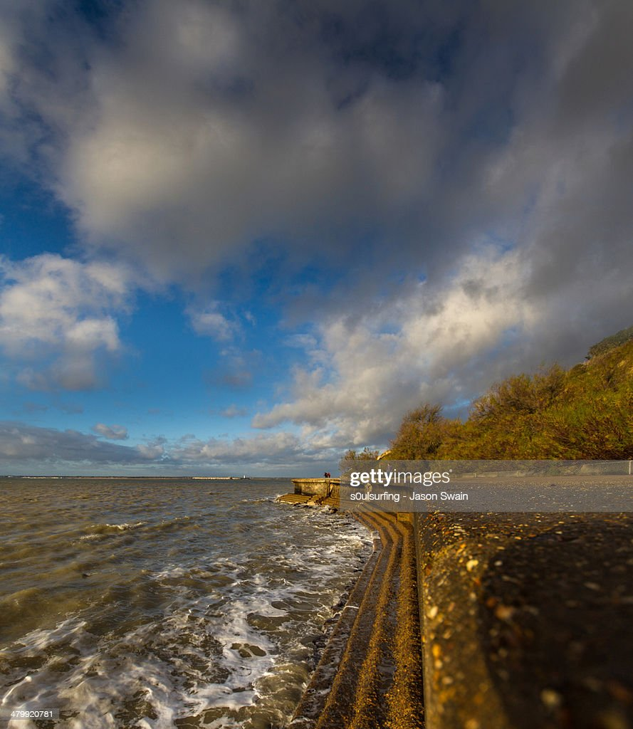 Landslip at Totland Bay