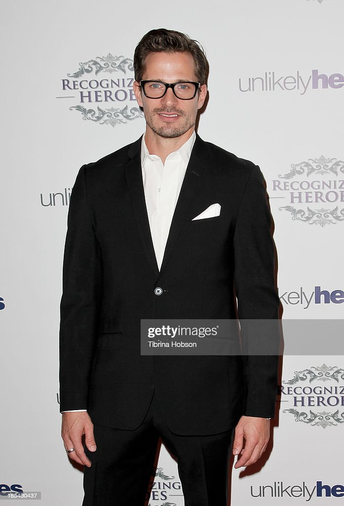 Lane Carlson attends at the Unlikely Heroes' recognizing heroes awards dinner And gala at W Hollywood on October 19, 2013 in Hollywood, California.