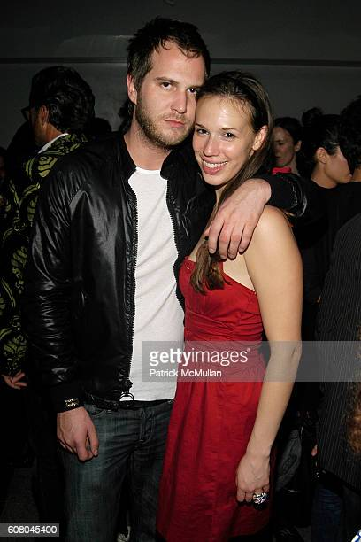 Lane Coder and Cynthia Pino attend Party to honor JONAS MEKAS hosted by ACCOMPANIED LITERARY SOCIETY IDEALOGUE GrandLife at Le Baron on December 8...
