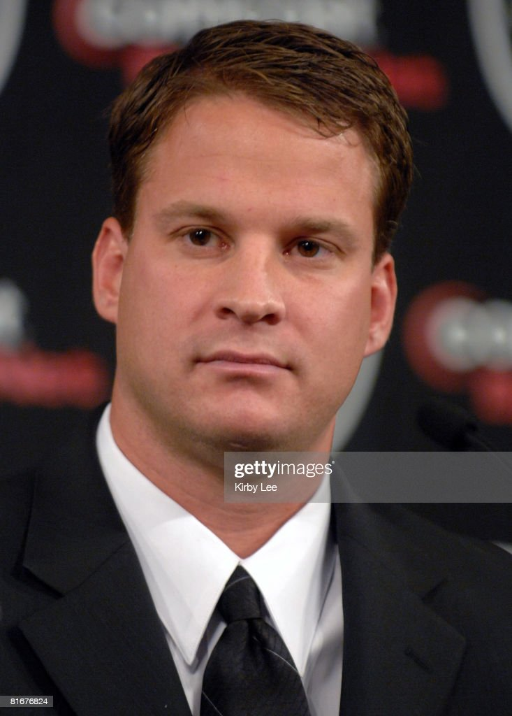 <a gi-track='captionPersonalityLinkClicked' href=/galleries/search?phrase=Lane+Kiffin&family=editorial&specificpeople=4120527 ng-click='$event.stopPropagation()'>Lane Kiffin</a> at press conference to announce his hiring as Oakland Raiders head coach in Alameda, Calif. on Tuesday, January 23, 2007. At age 31 Kiffin is the youngest head coach in NFL history.