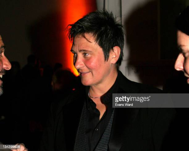 KD Lang during MOCA Gala Celebrates Dallas PriceVan Breda at The Geffen Contemporary at MOCA in Los Angeles California United States