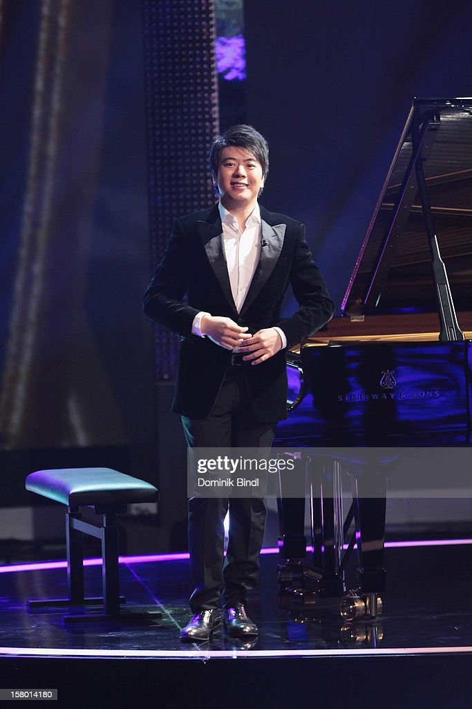 Lang Lang attends 'Wetten dass..?' From Freiburg on December 8, 2012 in Freiburg im Breisgau, Germany.