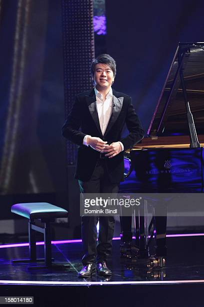 Lang Lang attends 'Wetten dass' From Freiburg on December 8 2012 in Freiburg im Breisgau Germany