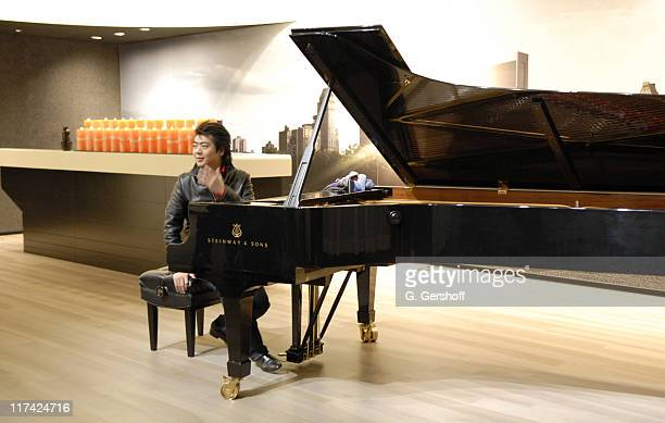 Lang Lang during Piano Virtuoso Lang Lang Special Guest Performance at the New York City Audi Forum January 29 2007 at New York City Audi Forum in...