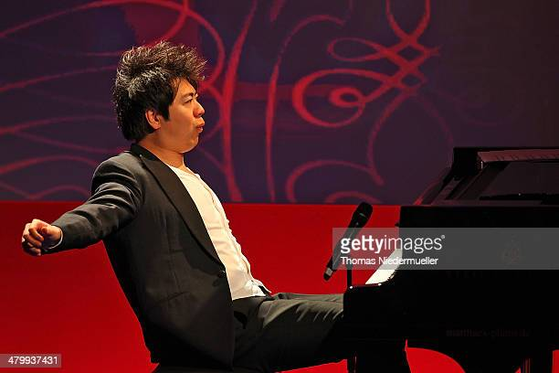 Lang Lang performs during the German Media Award on March 21 2014 in BadenBaden Germany The German Media Awards was created in 1992 to honor...