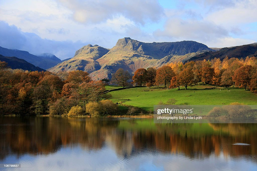 Langdale Pikes Loughrigg Tarn
