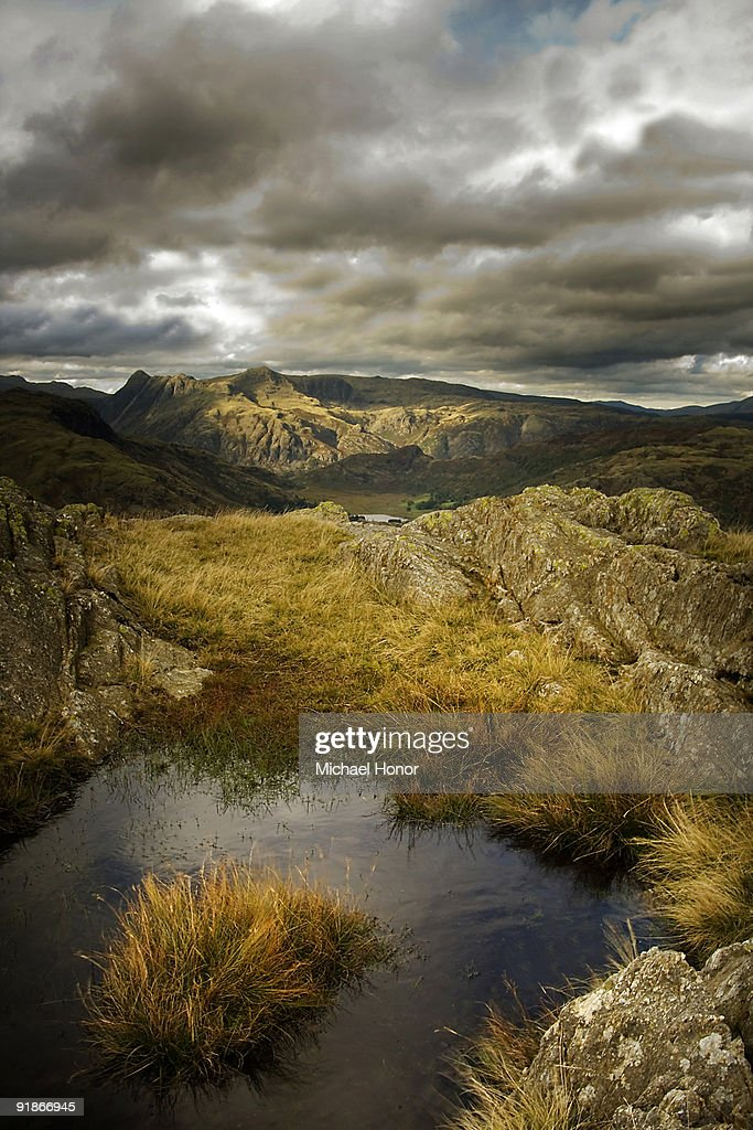Langdale Pikes  : Stock Photo
