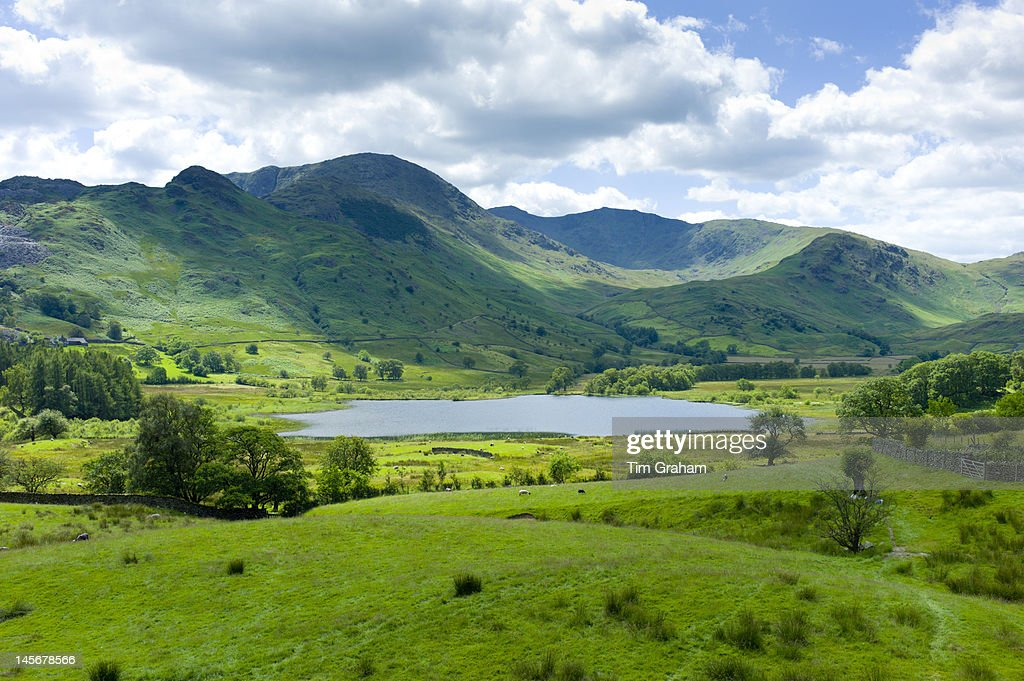 Langdale Pikes, The Lake District, UK : Stock Photo