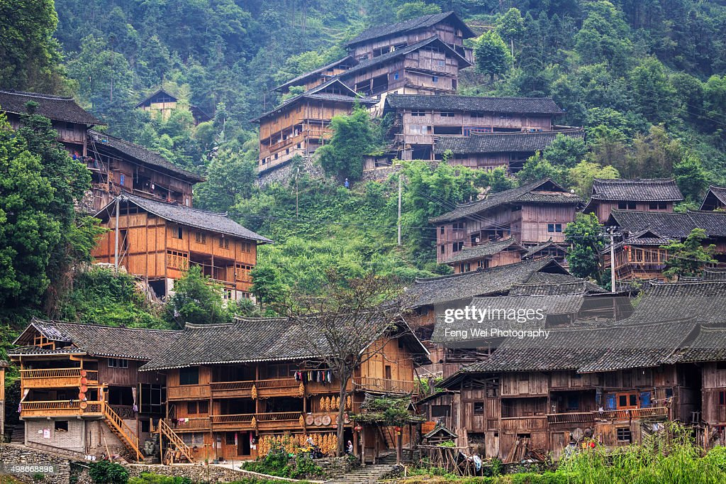 Langde Miao Village, Guizhou China