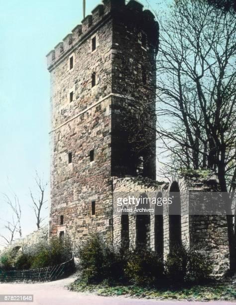 Langer Turm lookout at Aachen 1920s