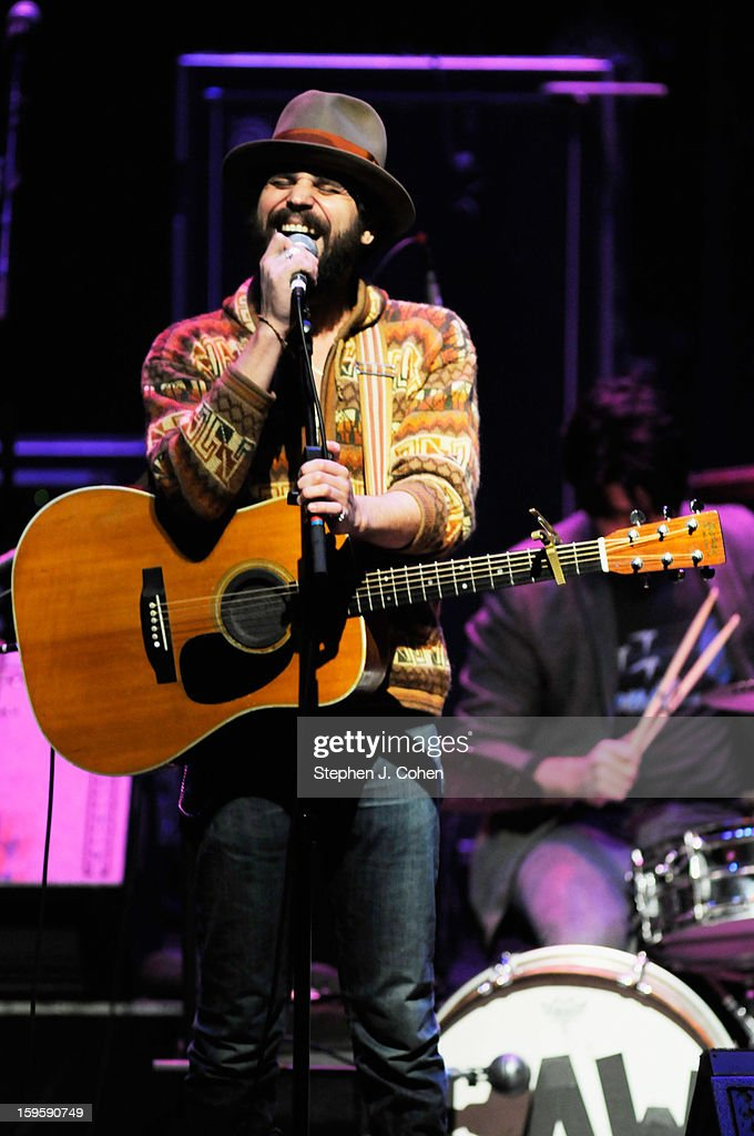 Langhorne Slim performs at Brown Theatre on January 16, 2013 in Louisville, Kentucky.