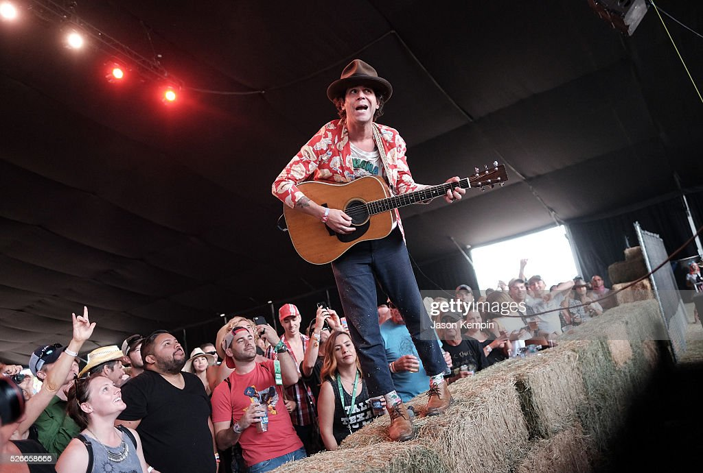 Langhorne Slim performs during 2016 Stagecoach California's Country Music Festival at Empire Polo Club on April 30, 2016 in Indio, California.