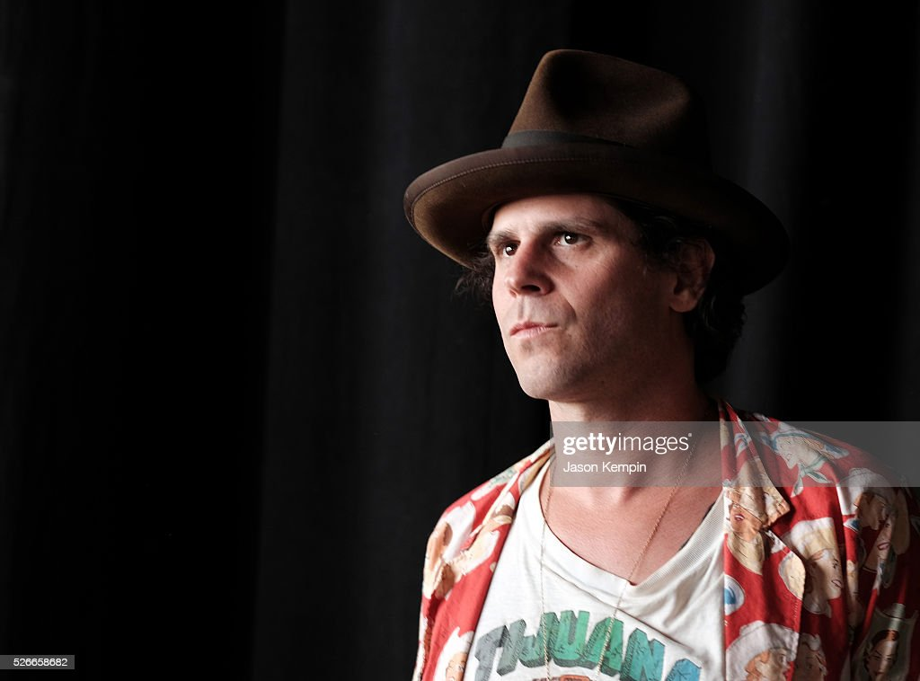 Langhorne Slim poses for a photo during 2016 Stagecoach California's Country Music Festival at Empire Polo Club on April 30, 2016 in Indio, California.