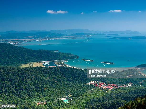 Langkawi island from above