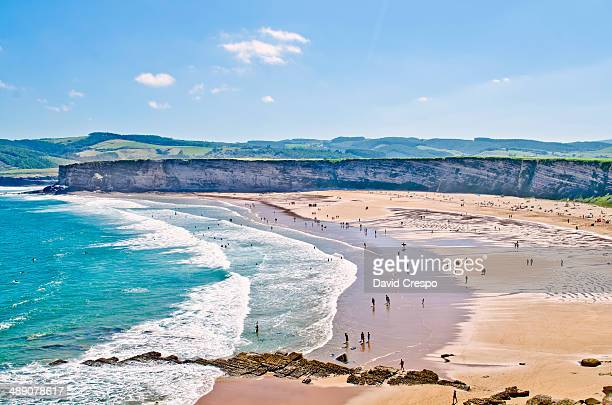 CONTENT] Langre beach at Cantabria Spain