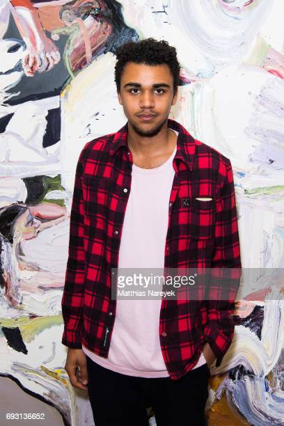 Langston Uibel attends the 'mad love' Australian contemporary artists group exhibition opening at Arndt Art Agency on June 6 2017 in Berlin Germany