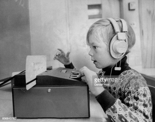 OCT 12 1972 NOV 24 1972 DEC 6 1972 'Language Master' Boosts Education at Knight Elementary School Mark Goddard uses the machine one of many in the...