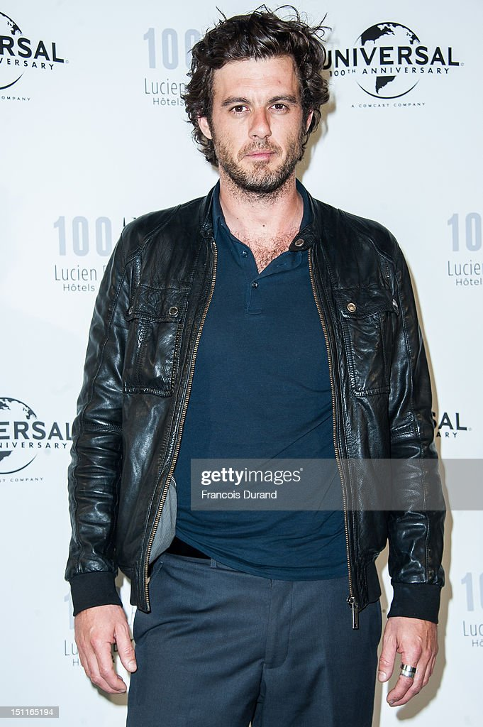 Lannick Gautry attends the 100th anniversary of Universal and Lucien Barriere at Royal Barriere hotel during the 38th Deauville American Film Festival on September 1, 2012 in Deauville, France.