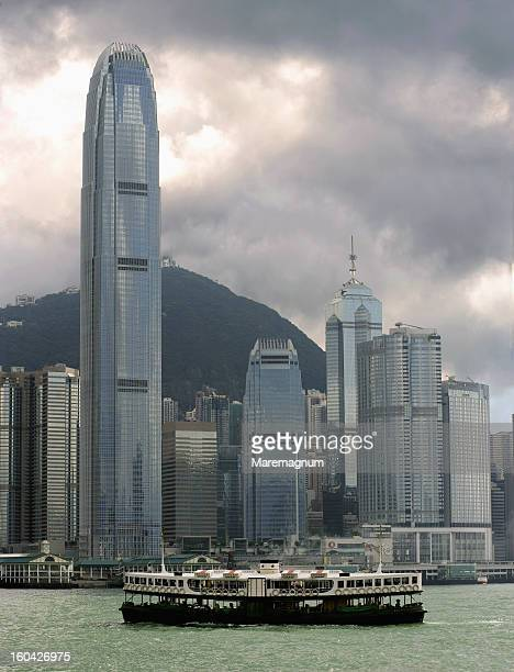 Lantau Island, buildings and skyscrapers