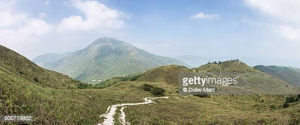 Lantau trail in Hong Kong