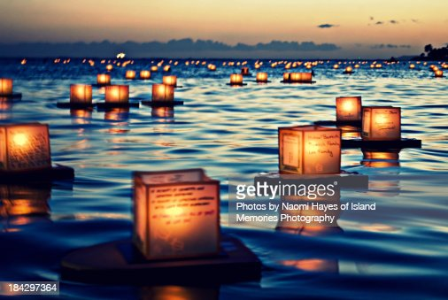 2011 Lantern Floating Ceremony Hawaii