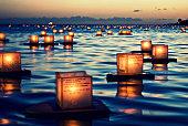 2011 Lantern Floating Ceremony Hawaii