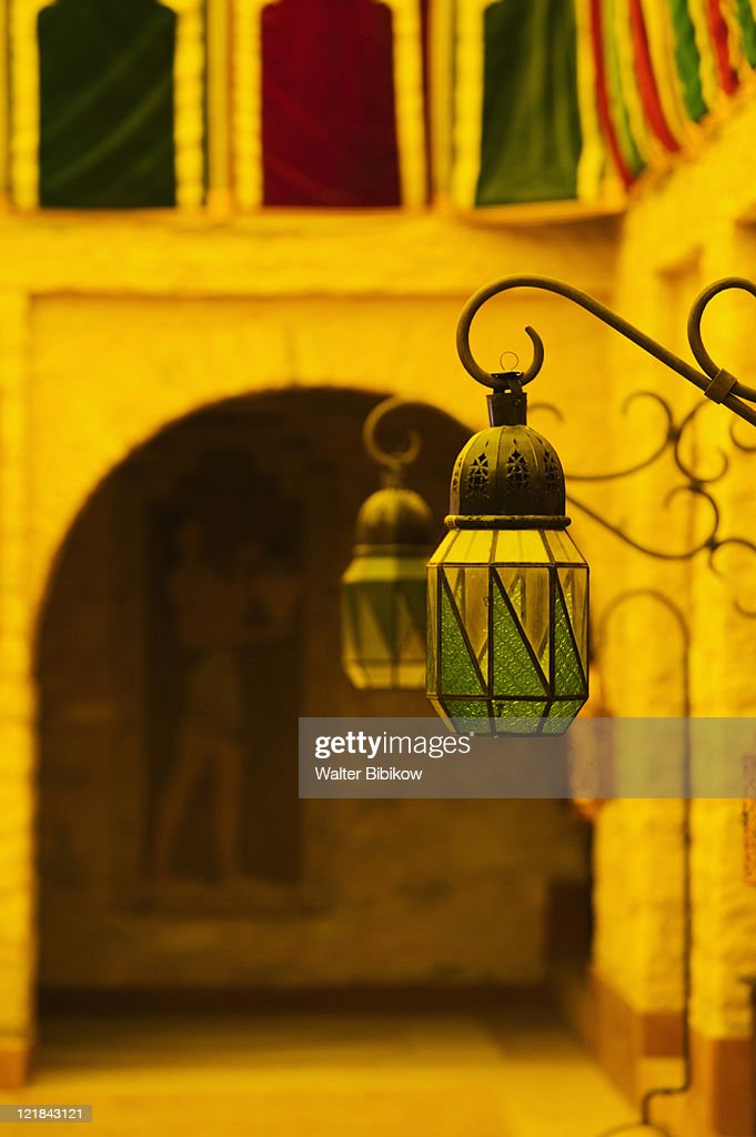 Lanterns, The Medina of Agadir, Agadir, Atlantic Coast, Morocco
