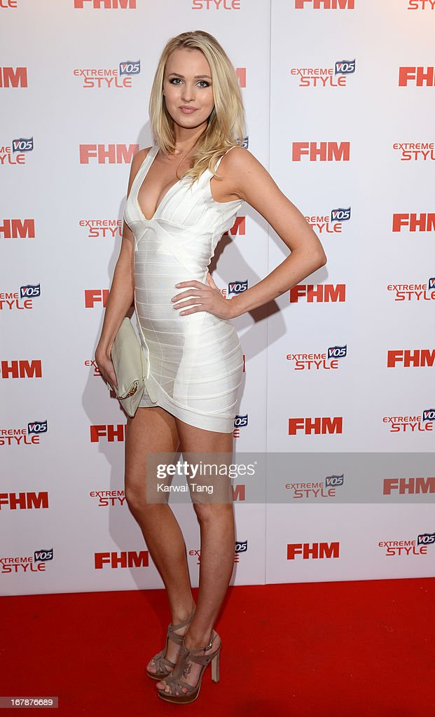 Lanthe Cochrane-Stack arrives for the FHM 100 Sexiest Women in the World 2013 Launch Party held at the Sanderson Hotel on May 1, 2013 in London, England.