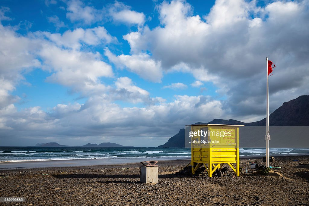 Lanzarote, Famara : Stock Photo