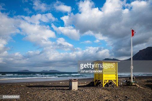 Lanzarote, Famara : Stock Photo