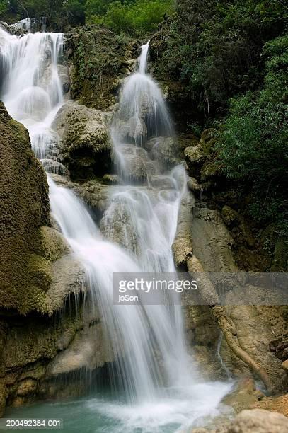Laos, Luang Prabang, Kuang Si Falls