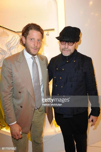 Lapo Elkann and Marco attend Carlos Miele and Vogue Italia Celebrate Limited Edition of TShirts Designed by Lapo Elkann and Bianca Brandolini CONTACT...