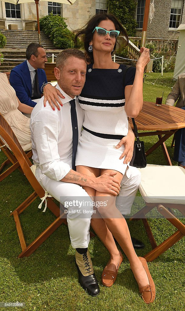 <a gi-track='captionPersonalityLinkClicked' href=/galleries/search?phrase=Lapo+Elkann&family=editorial&specificpeople=771607 ng-click='$event.stopPropagation()'>Lapo Elkann</a> and <a gi-track='captionPersonalityLinkClicked' href=/galleries/search?phrase=Shermine+Shahrivar&family=editorial&specificpeople=2134098 ng-click='$event.stopPropagation()'>Shermine Shahrivar</a> attend The Cartier Style et Luxe at the Goodwood Festival of Speed at Goodwood on June 26, 2016 in Chichester, England.
