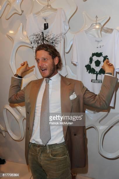 Lapo Elkann attends Carlos Miele and Vogue Italia Celebrate Limited Edition of TShirts Designed by Lapo Elkann and Bianca Brandolini CONTACT SIPA...