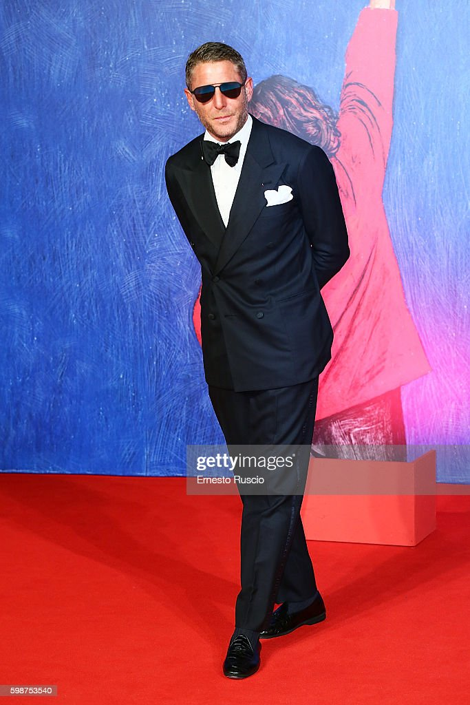Lapo Elkann attends the premiere of 'Franca: Chaos And Creation' during the 73rd Venice Film Festival at Sala Giardino on September 2, 2016 in Venice, Italy.