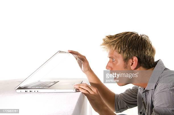 Laptop mit Aussicht