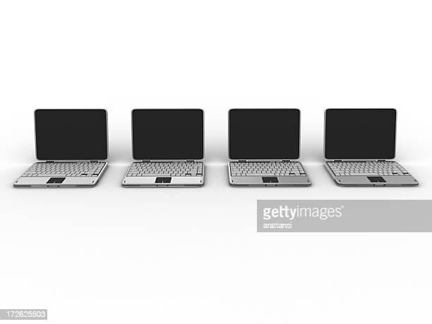 ノートパソコン、クリッピングパス 03