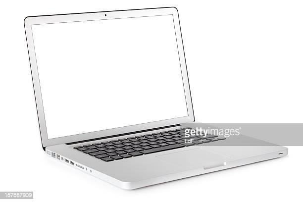 Laptop mit clipping path